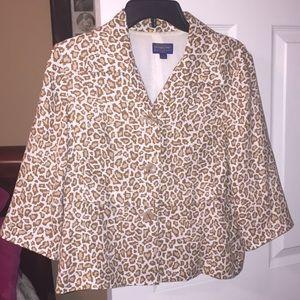 Pendleton animal print jacket